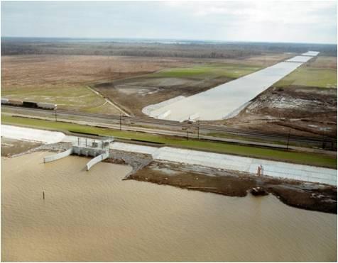 Davis Pond aerial