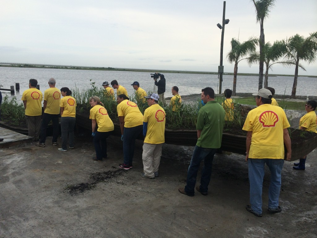 ROR sponsored lunch for the Shell-CCA Floating Island volunteer event in April 2015.