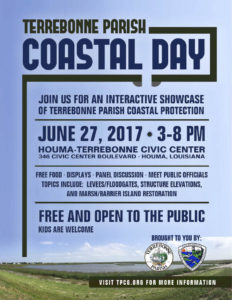 Terrebonne to host Coastal Day June 27