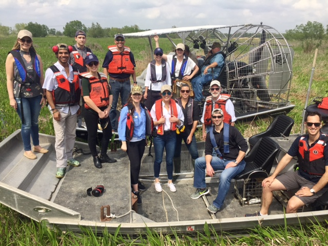 Coastal Louisiana Congressional Staff Trip